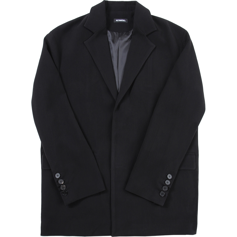 N4ND Oversized Blazer [Black],NOT4NERD