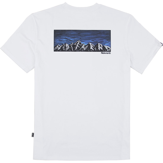 The Evening T-Shirts [White],NOT4NERD
