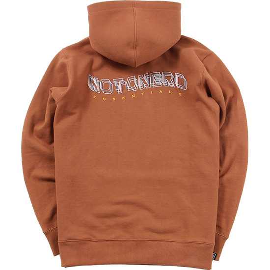 3Wave Logo Pullover Hood [Coyote],NOT4NERD