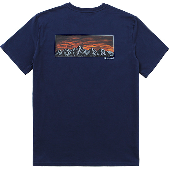 The Evening T-Shirts [Navy],NOT4NERD