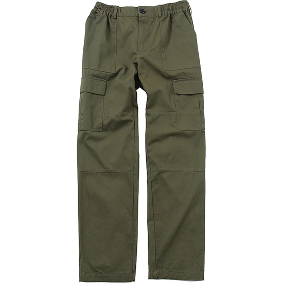 Cargo Pocket Pants [Khaki],NOT4NERD