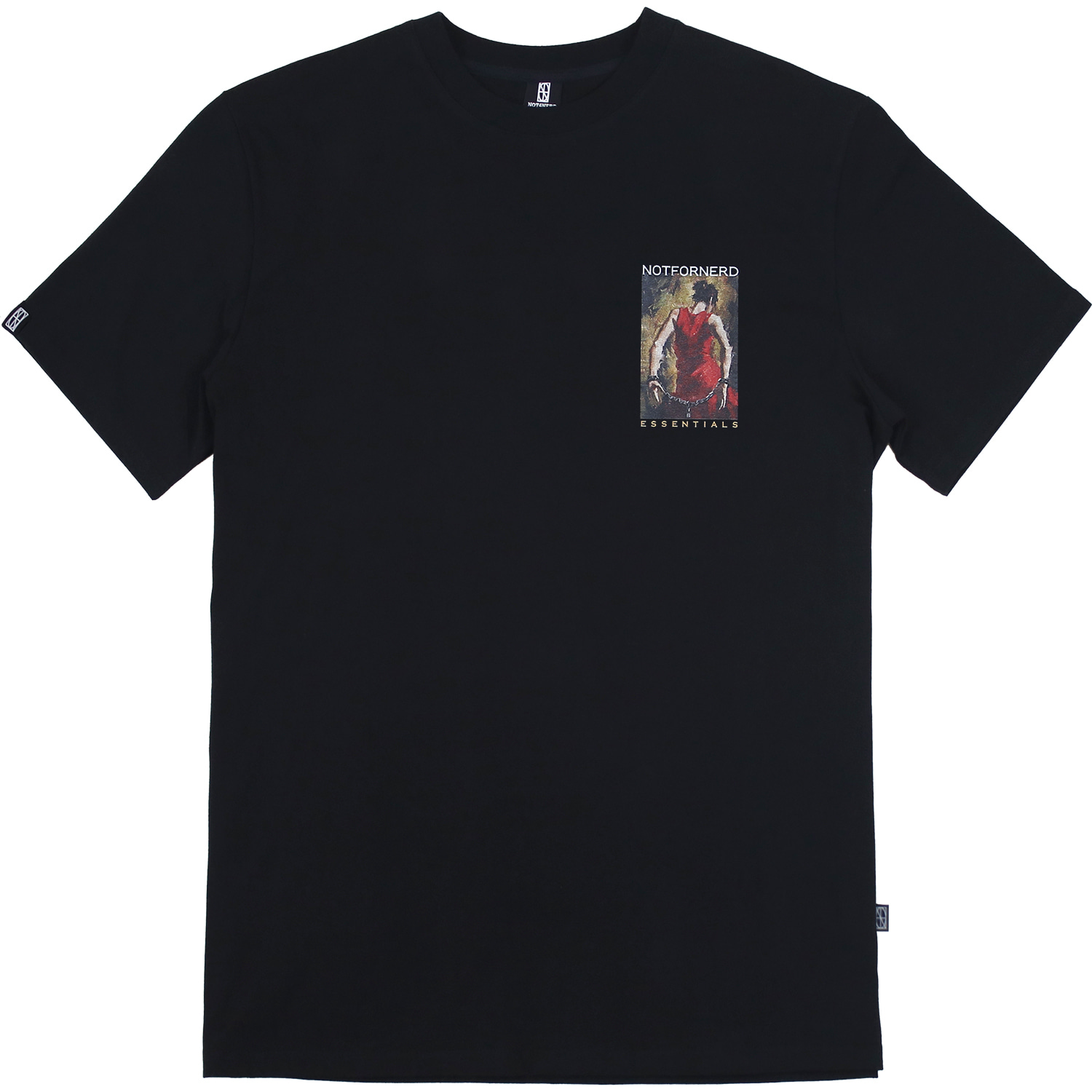 In Chains T-Shirts [Black],NOT4NERD