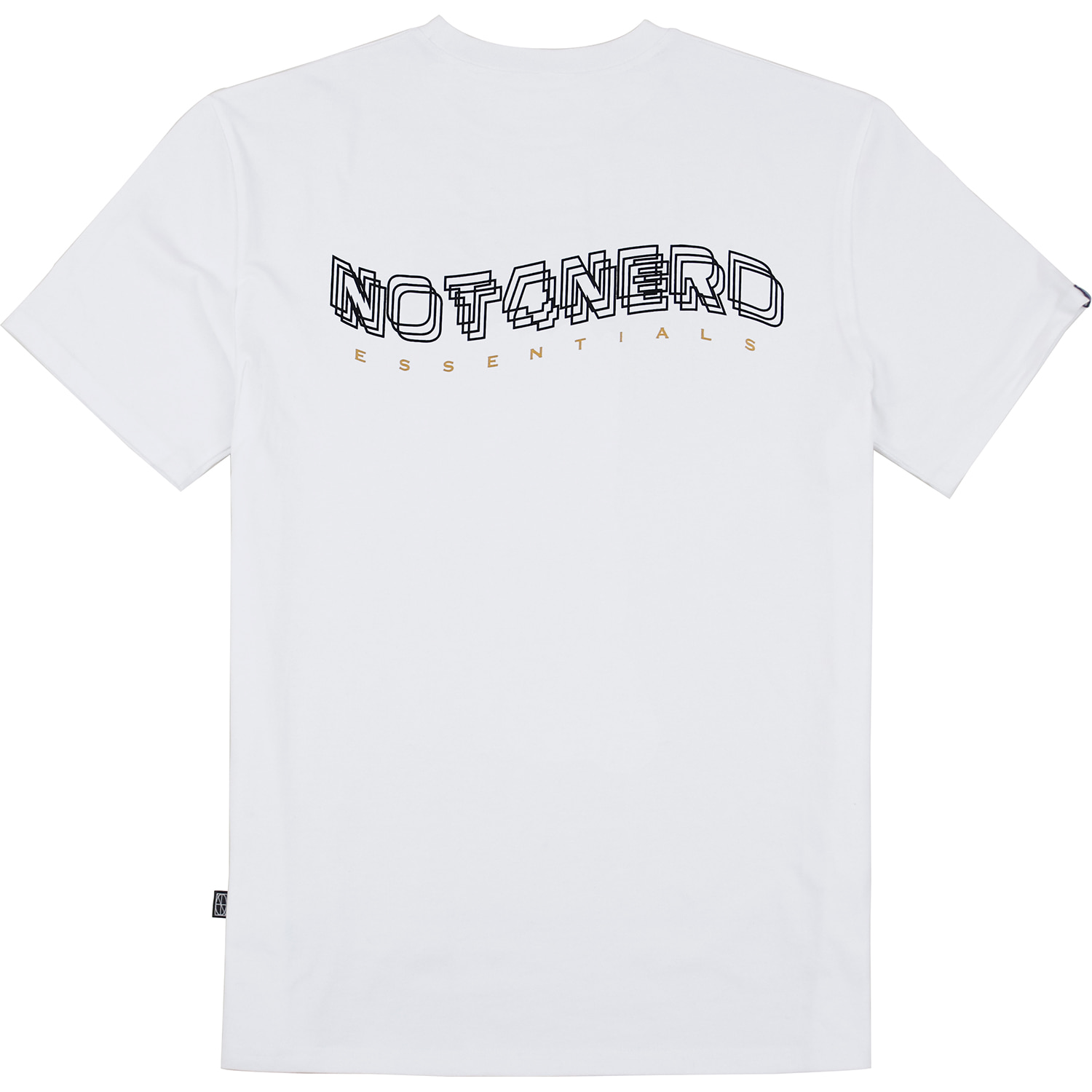 3Wave Logo T-Shirts [White],NOT4NERD