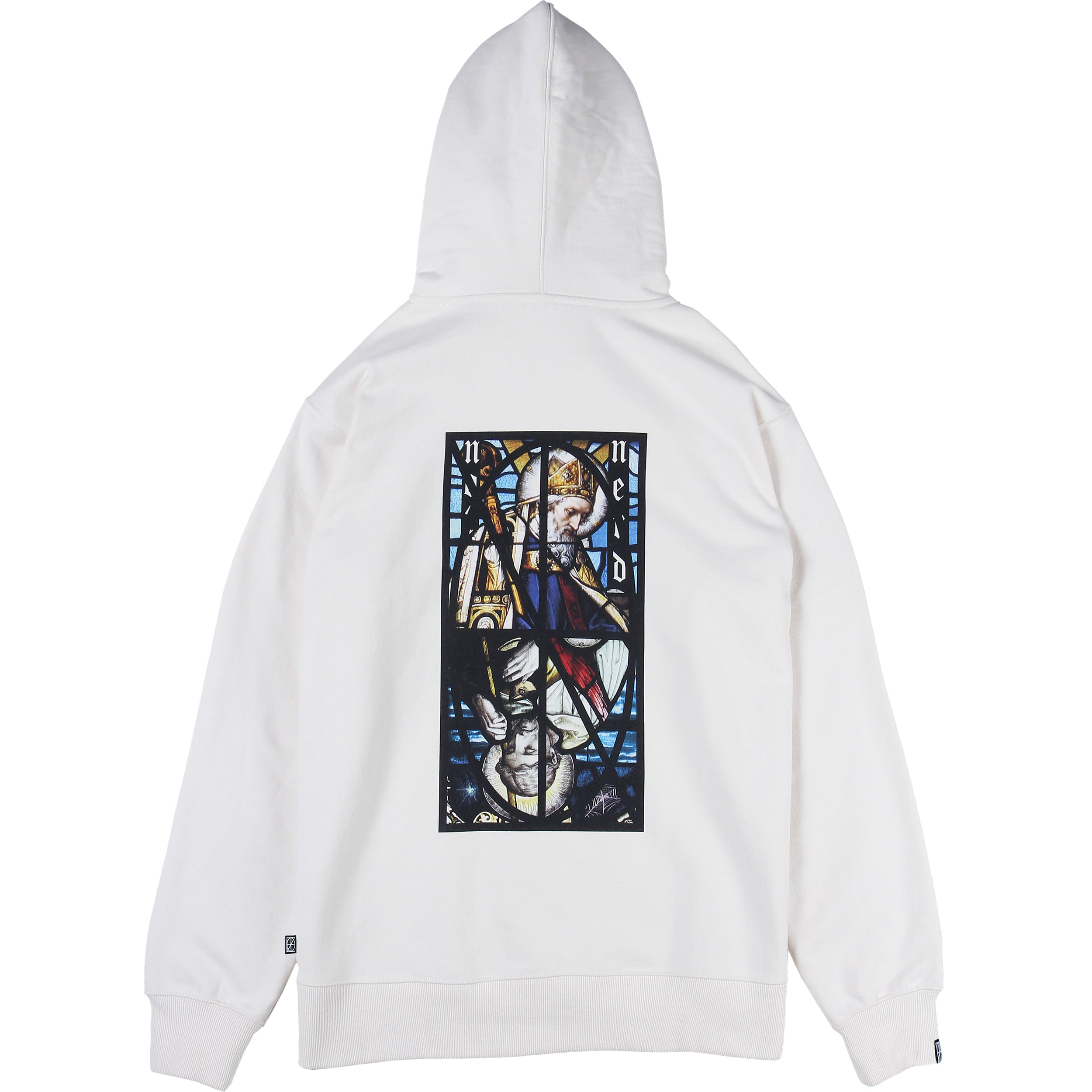 Two Pope Pullover Hood [Ivory],NOT4NERD