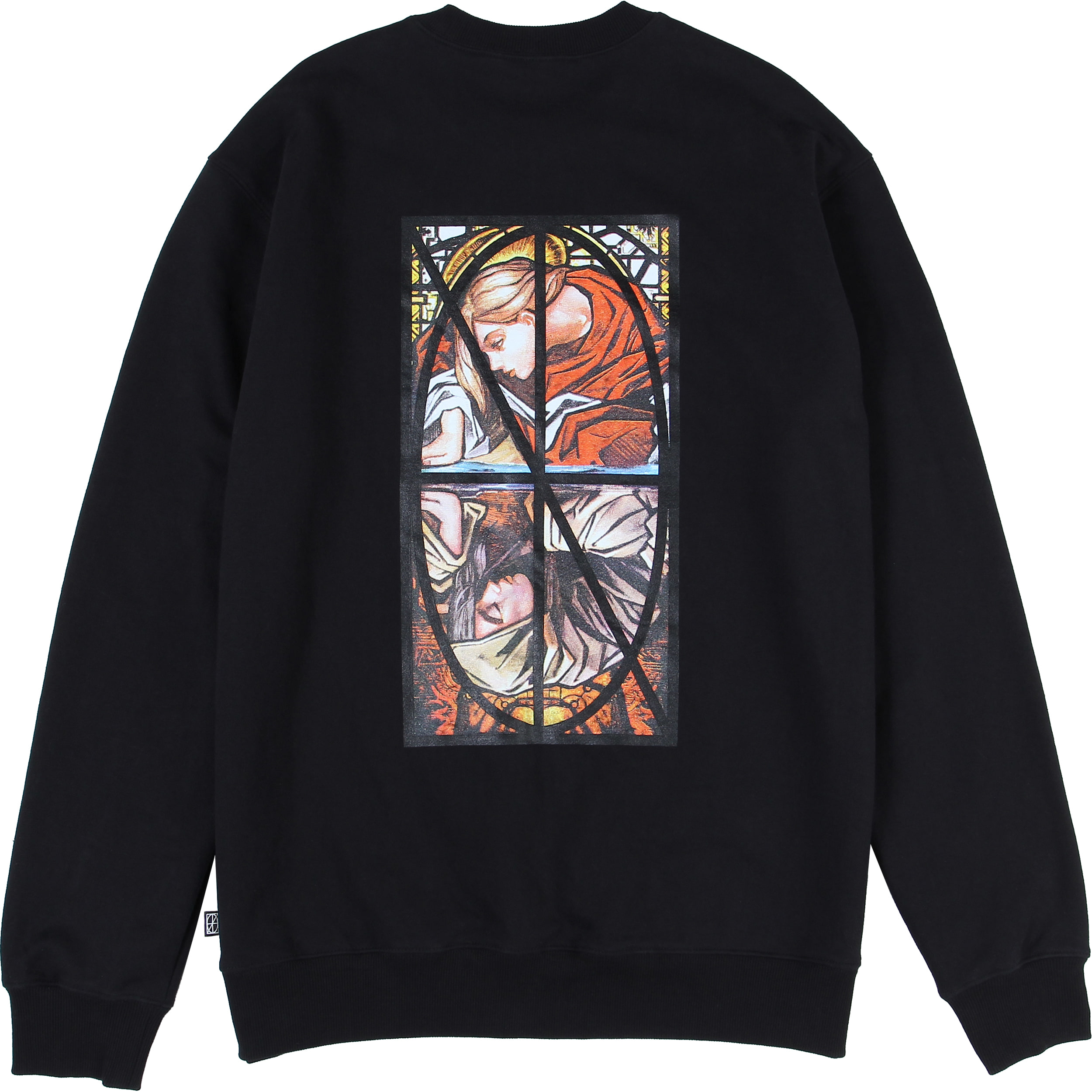 Narcissism Crewneck [Black],NOT4NERD