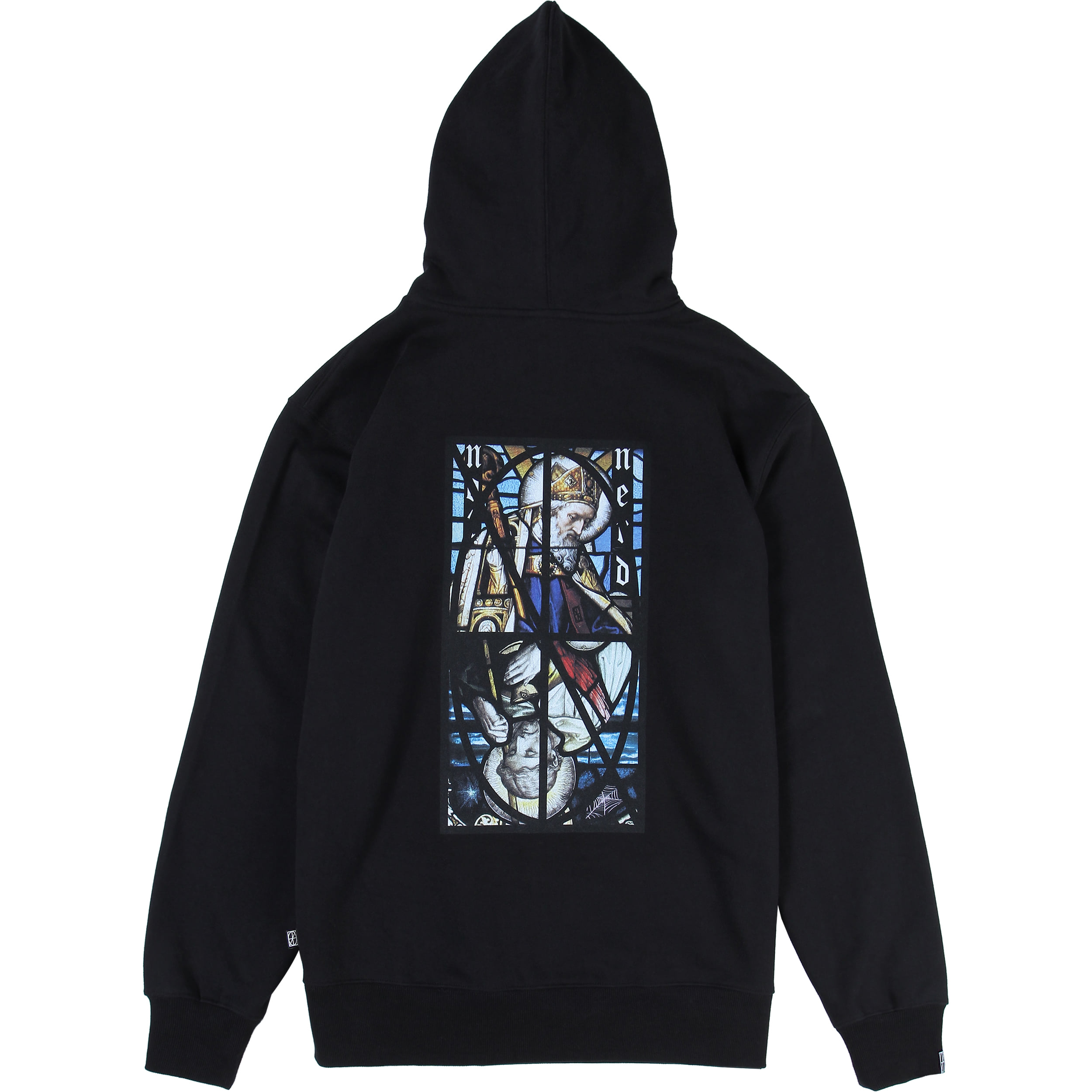 Two Pope Pullover Hood [Black],NOT4NERD
