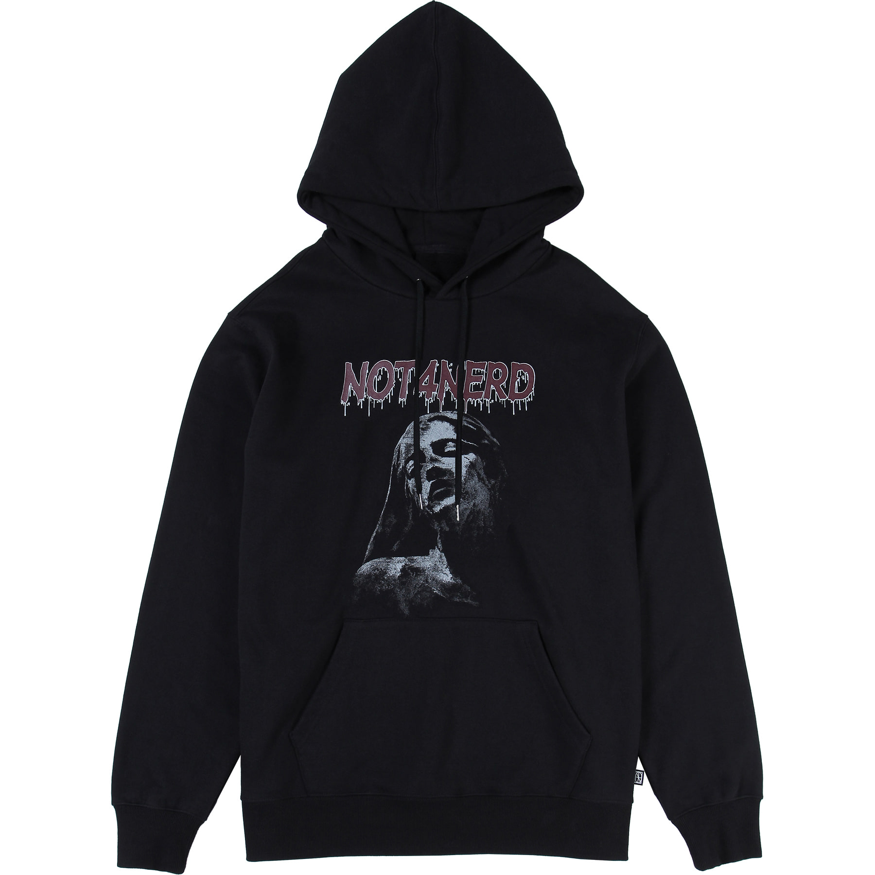 Pain Pullover Hood [Black],NOT4NERD