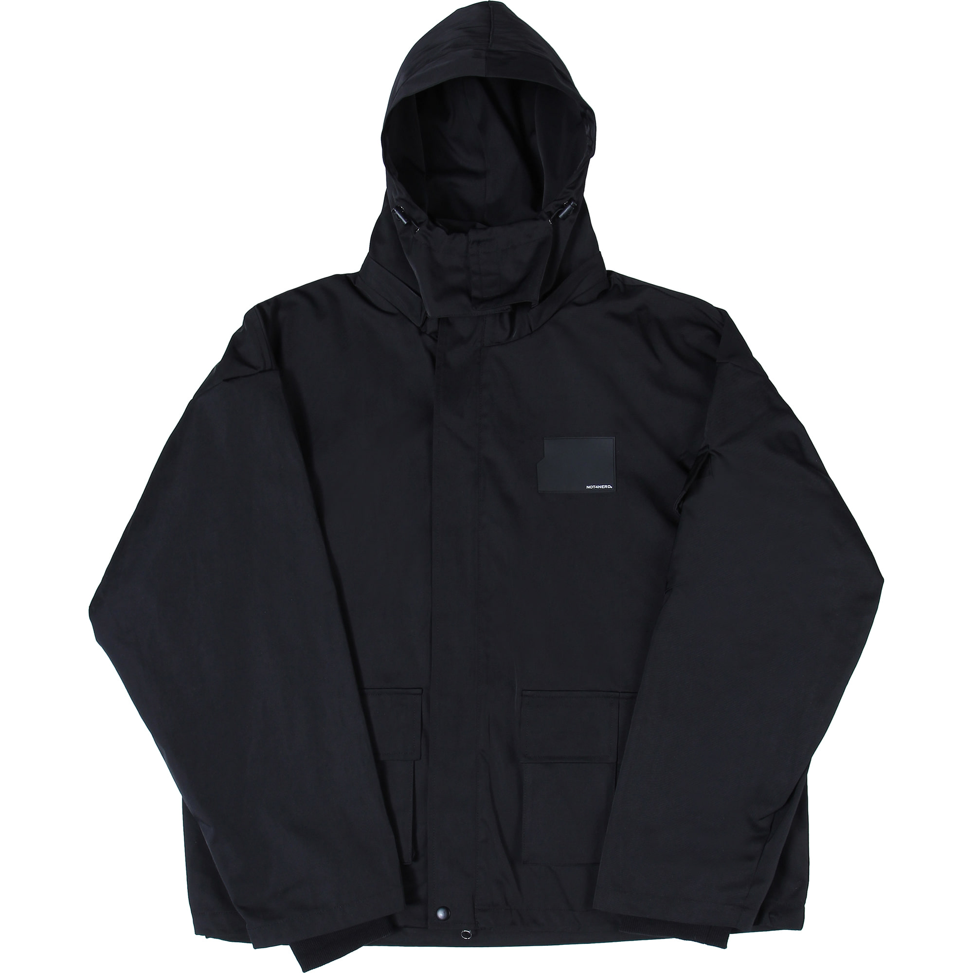 Card Wallet Field Jacket [Black],NOT4NERD