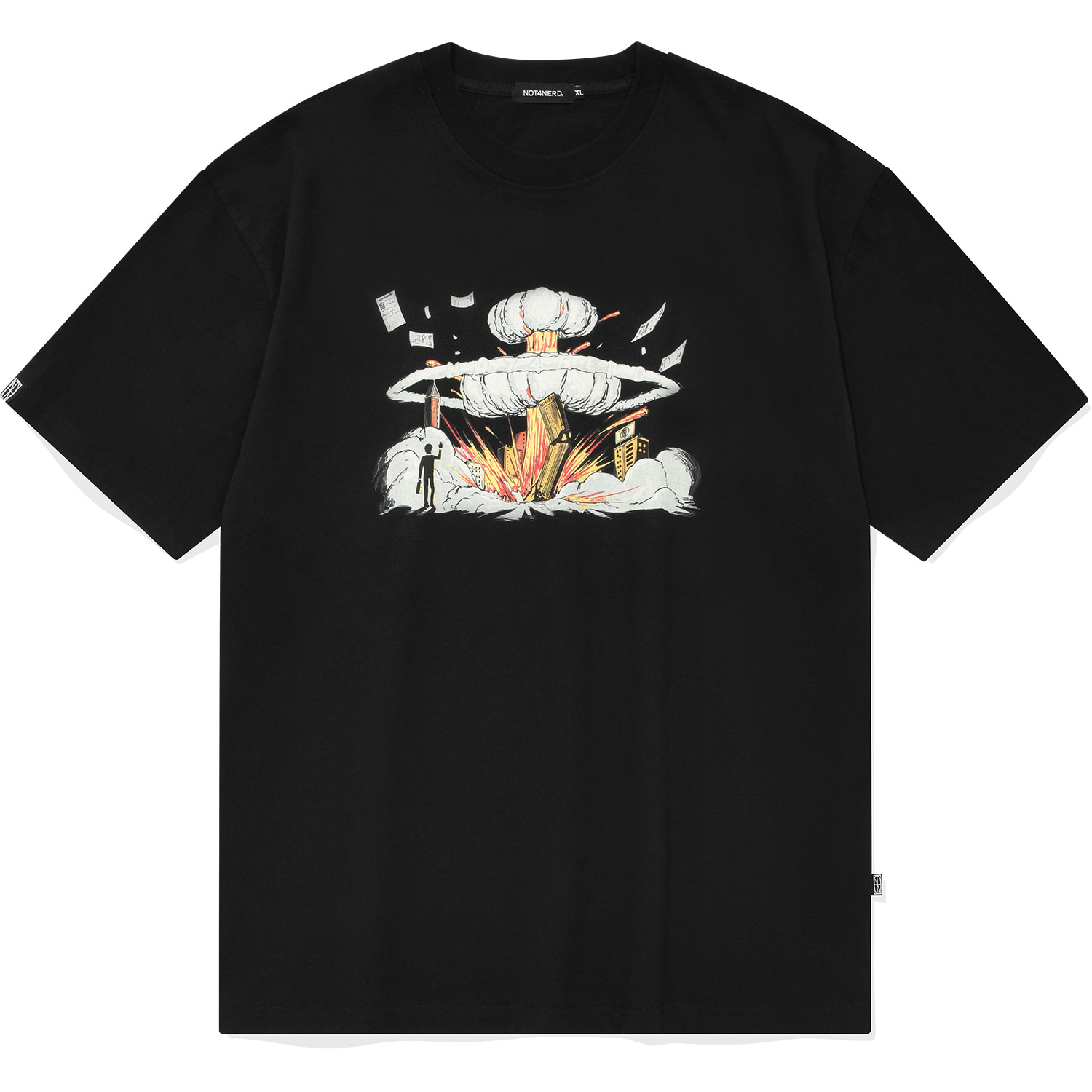 Nuclear T-Shirts Black,NOT4NERD