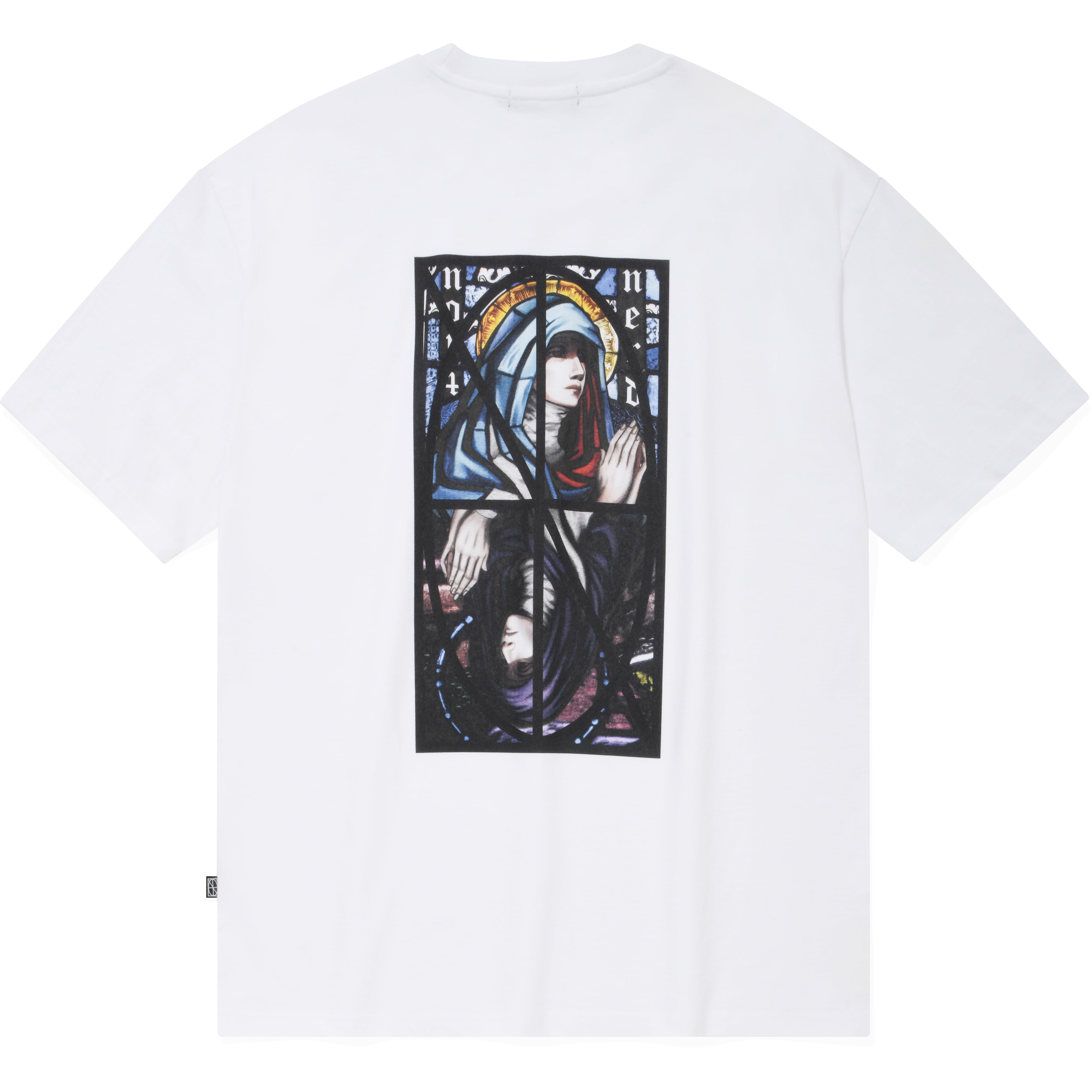Remake Two Virgin Mary T-Shirts White,NOT4NERD