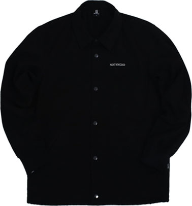 Hand Twill Coach Jacket [Black]