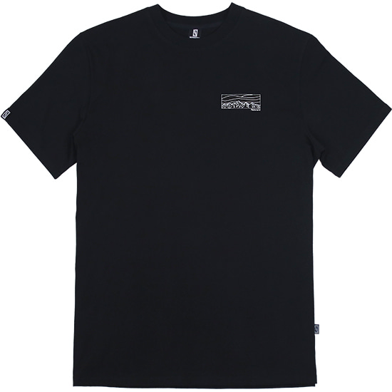 The Evening T-Shirts [Black],NOT4NERD