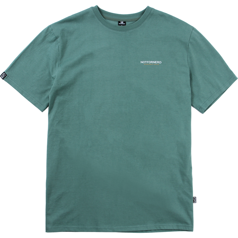 For Logo T-Shirts [Green],NOT4NERD
