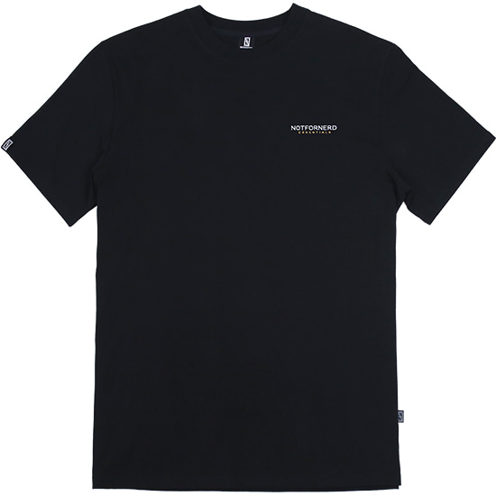 For Logo T-Shirts [Black],NOT4NERD