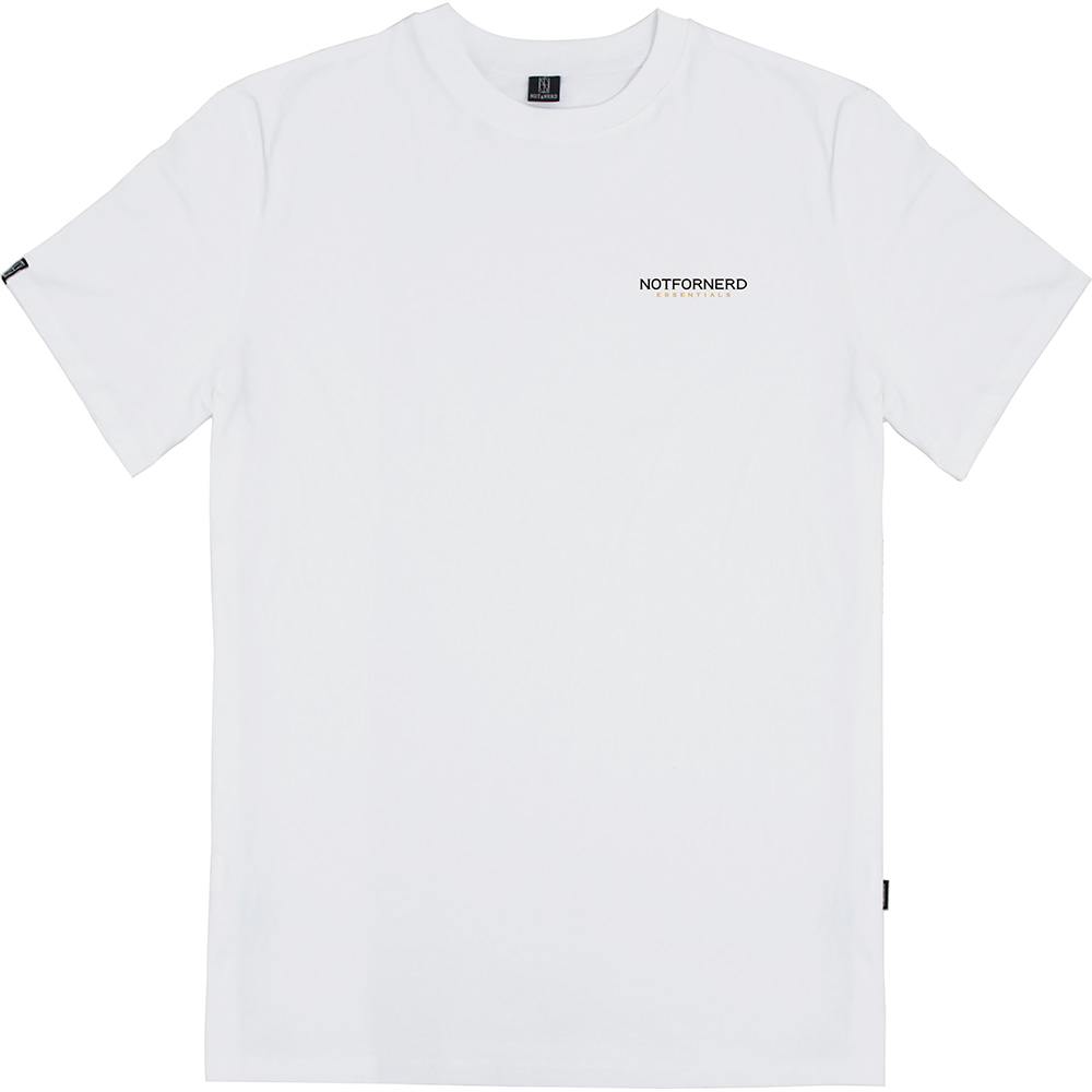 For Logo T-Shirts [White],NOT4NERD