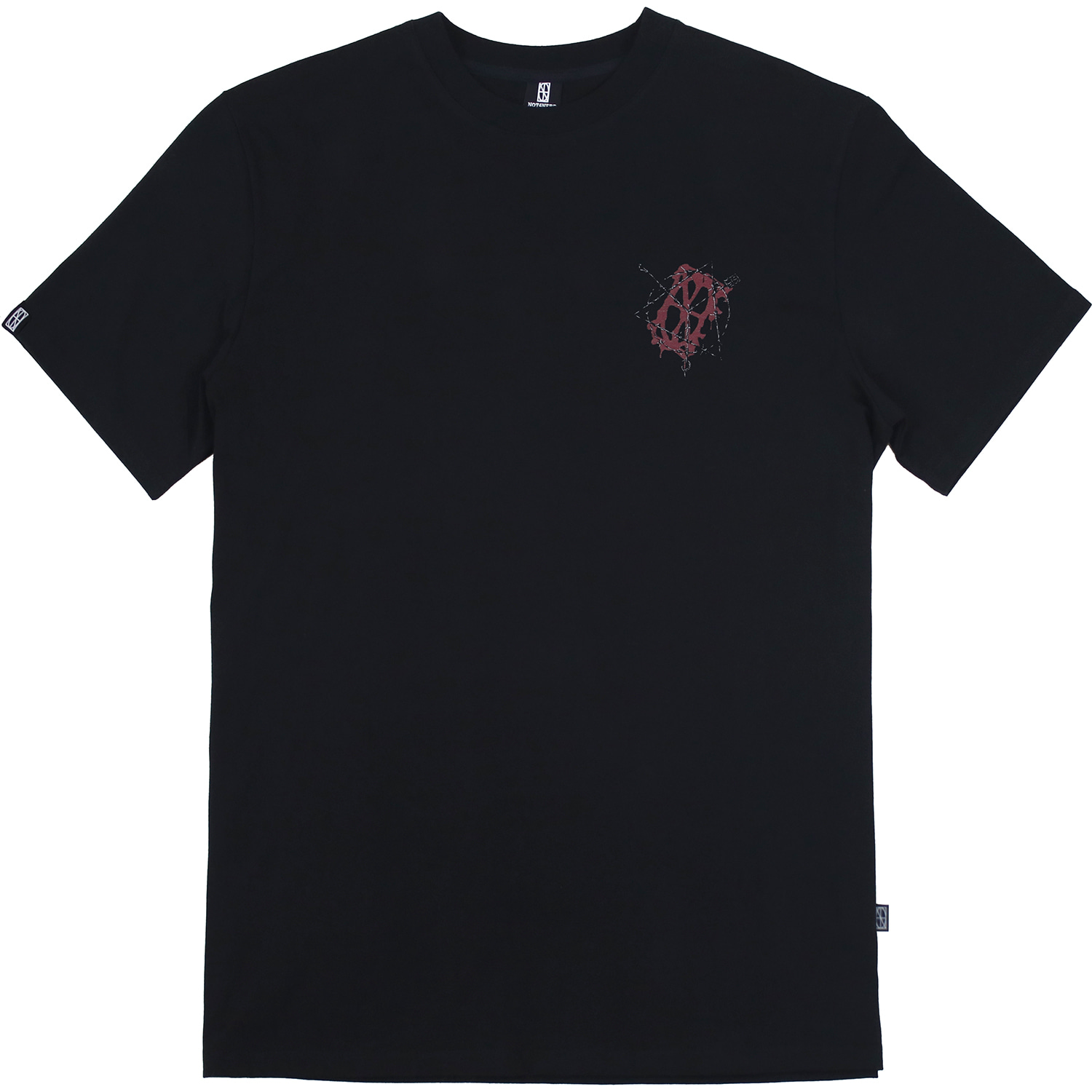 Wire Entanglement T-Shirts [Black],NOT4NERD