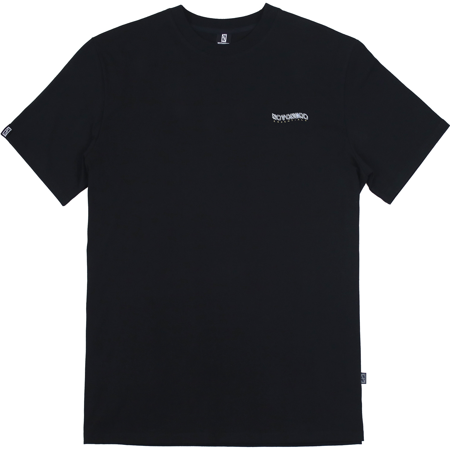 3Wave Logo T-Shirts [Black],NOT4NERD