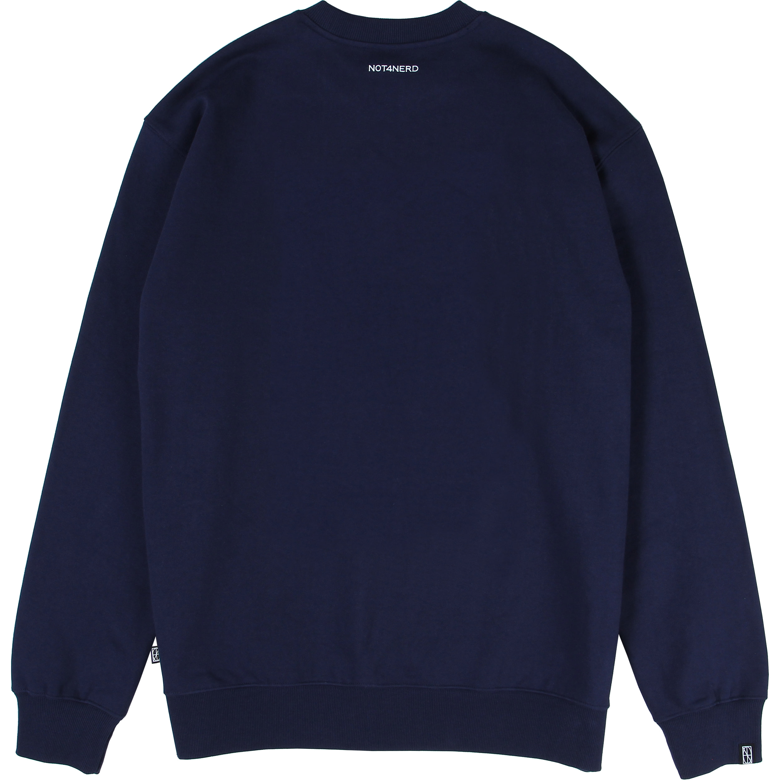 N-Justitia Crewneck [Navy],NOT4NERD