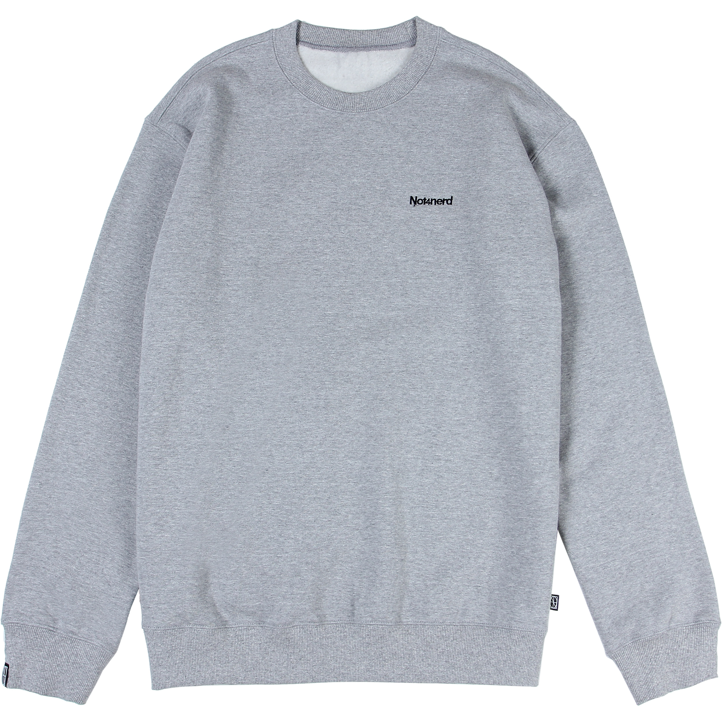 Narcissism Crewneck [Grey],NOT4NERD