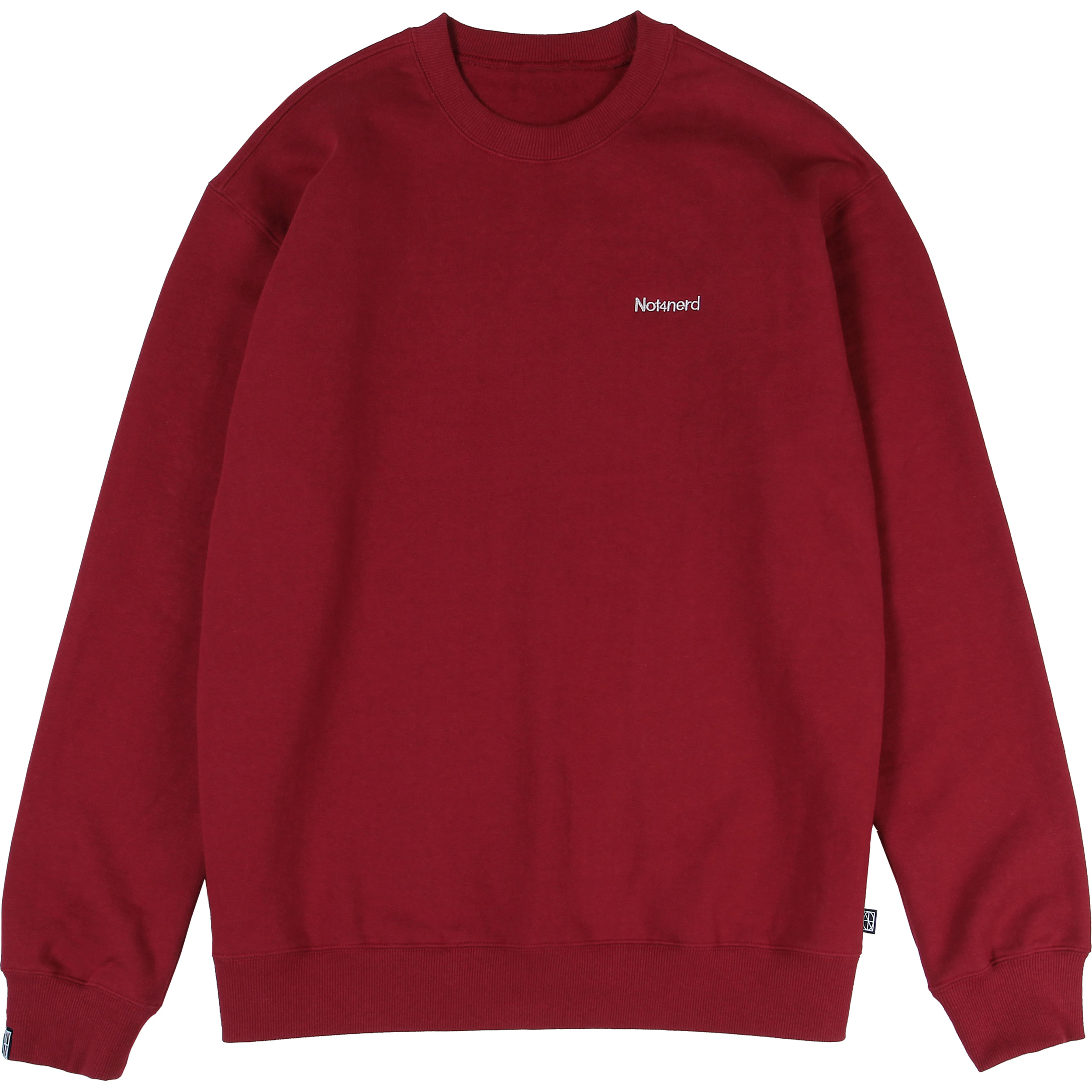 Narcissism Crewneck [Red],NOT4NERD