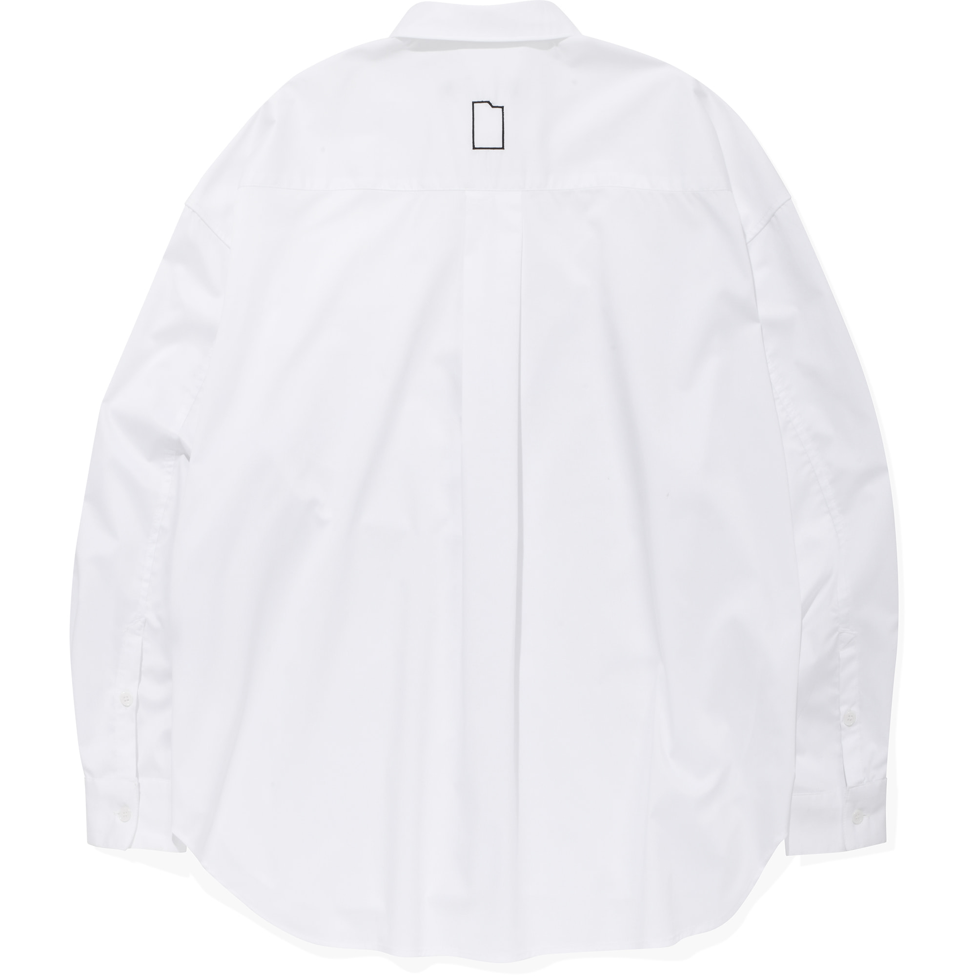 Card Wallet Oversized Shirts [White],NOT4NERD