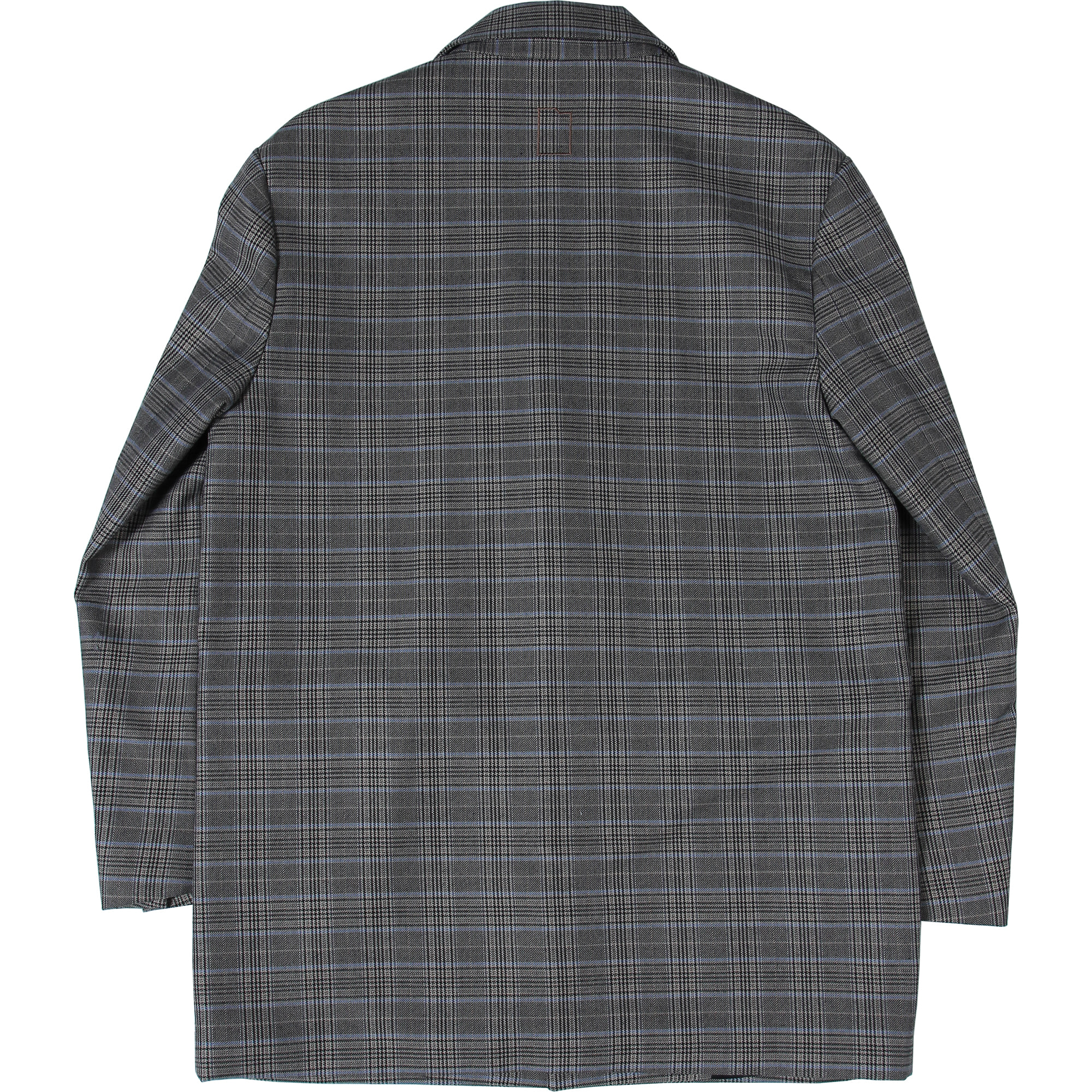 Card Wallet Oversized Blazer [Glen Check],NOT4NERD