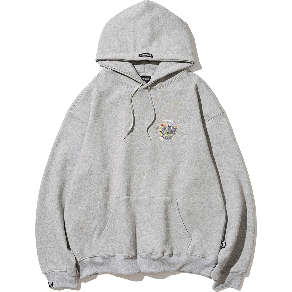 Chase Pullover Hood Grey,NOT4NERD
